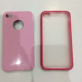 Iphone4 pink case