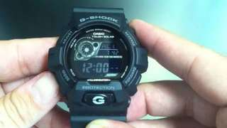 Casio G-Shock Men's Digital Black Resin Strap Watch GR-8900A-1D