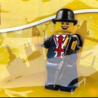 (BNIP)  Lego Minifigure Lester 70308