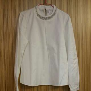 Brand New Bling Bling Collar Shirt