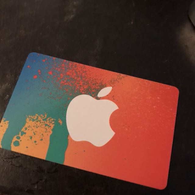 $25 iTunes gift card