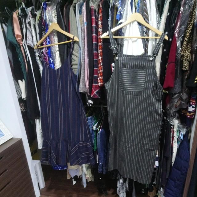 2件吊帶洋裝-可換物