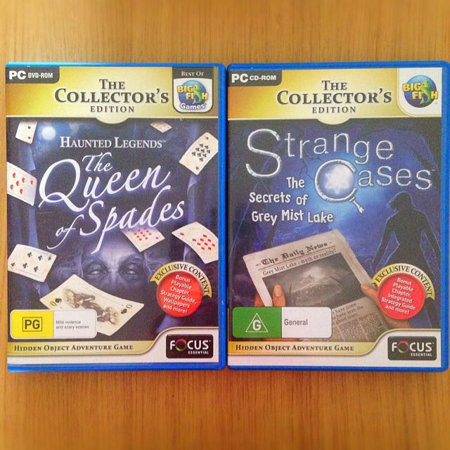 NEW 2 Hidden Items/Puzzle Games PC