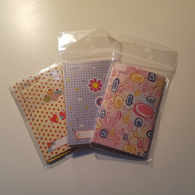 3 packs of Polaroid stickers