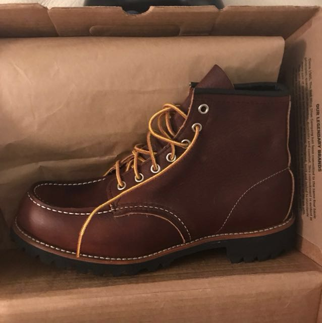 9 Red Wing Roughneck