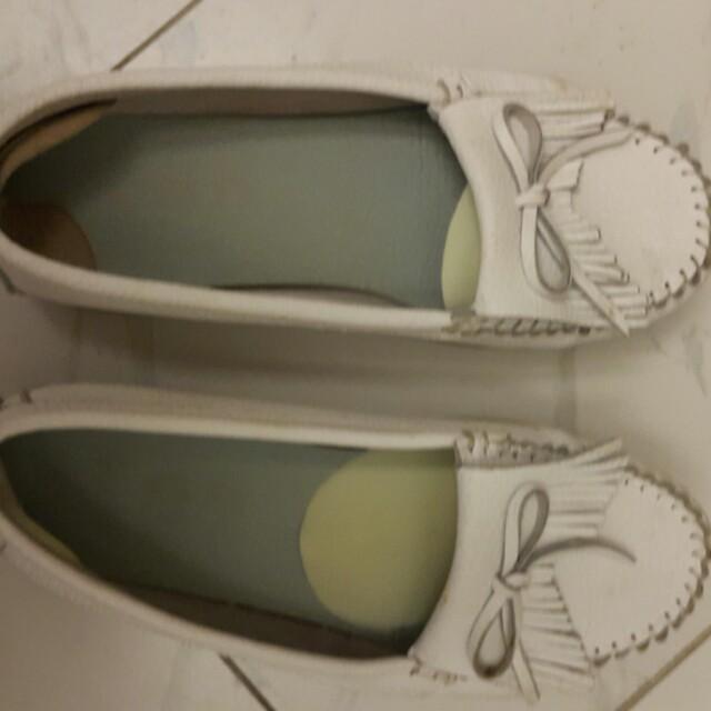 厚底小白鞋二手可換物