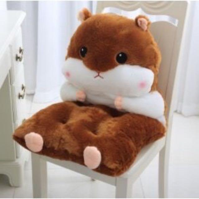 可愛倉鼠🐹可拆式坐墊
