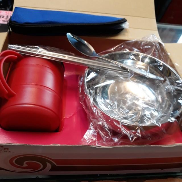 碗杯環保筷一組