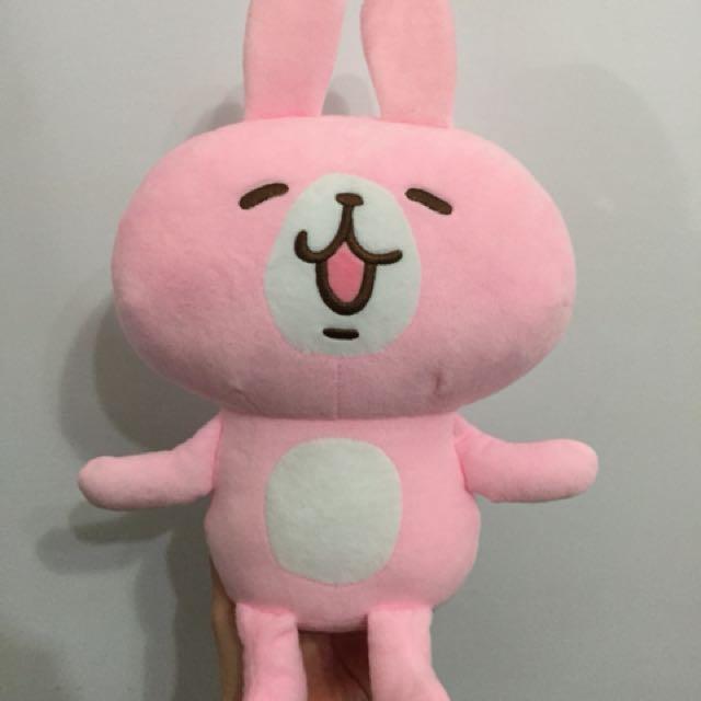 卡納赫拉粉紅兔兔全身玩偶娃娃#舊愛換新歡