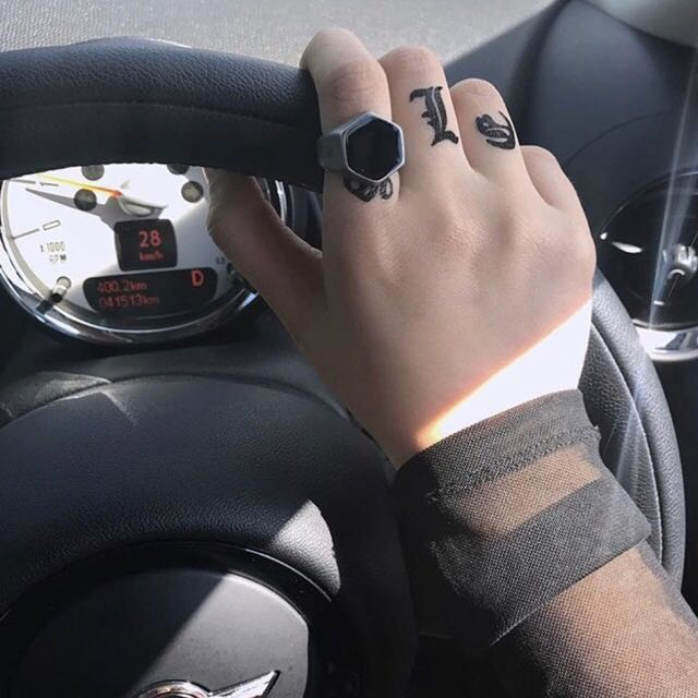 收購 暗黑系 飾品 戒指 手鍊