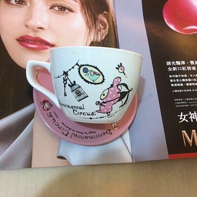 憂傷馬戲團 深情馬戲團 杯子 盤子 居家擺設 下午茶 裝飾 咖啡 紅茶 7-11 集點 贈
