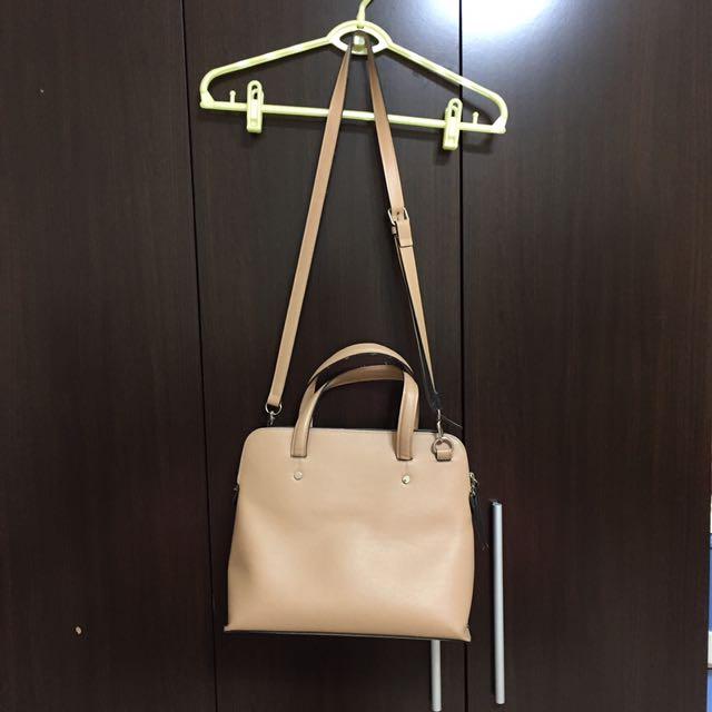可議 正韓韓製韓標韓國品牌 le junev 醫生肩背手提皮革包