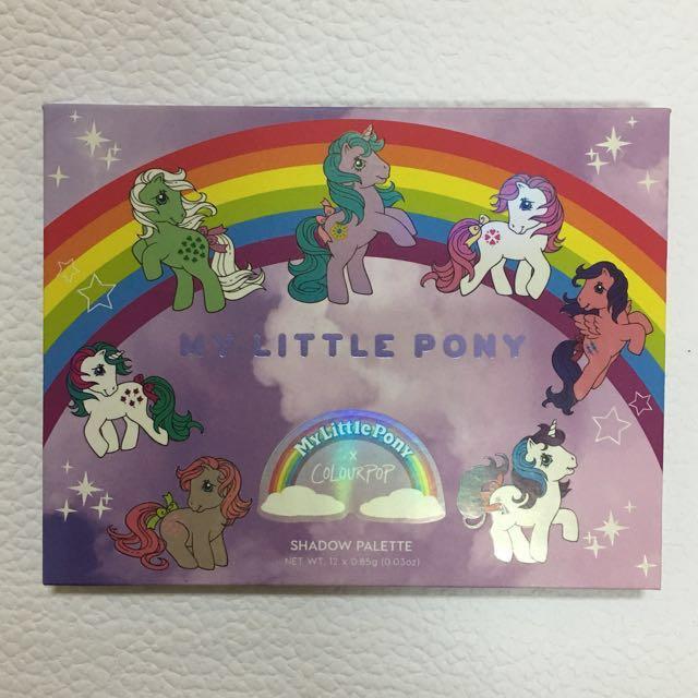 🎉 搶翻天的 My Little Pony x COLORPOP  限量 ❤️12色眼影盤