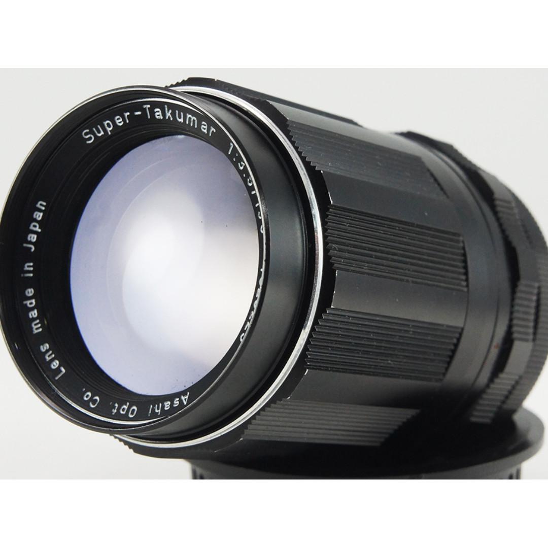 **日光銀鹽** 日鏡 Pentax Super-Takumar 135mm F3.5 M42接環 #223