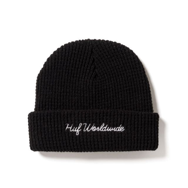 🎉現貨 Huf Worldwide Waffle Knit Beanie 毛帽 美國代購 美國直送 保證真品