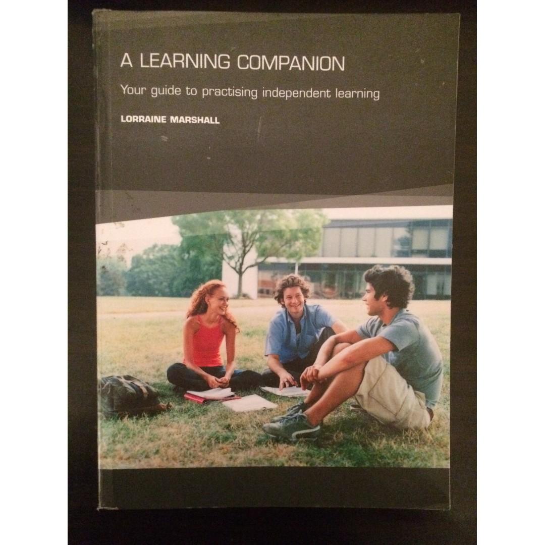A Learning Companion (Lorraine Marshall 2006) (like NEW) (price O.N.O)