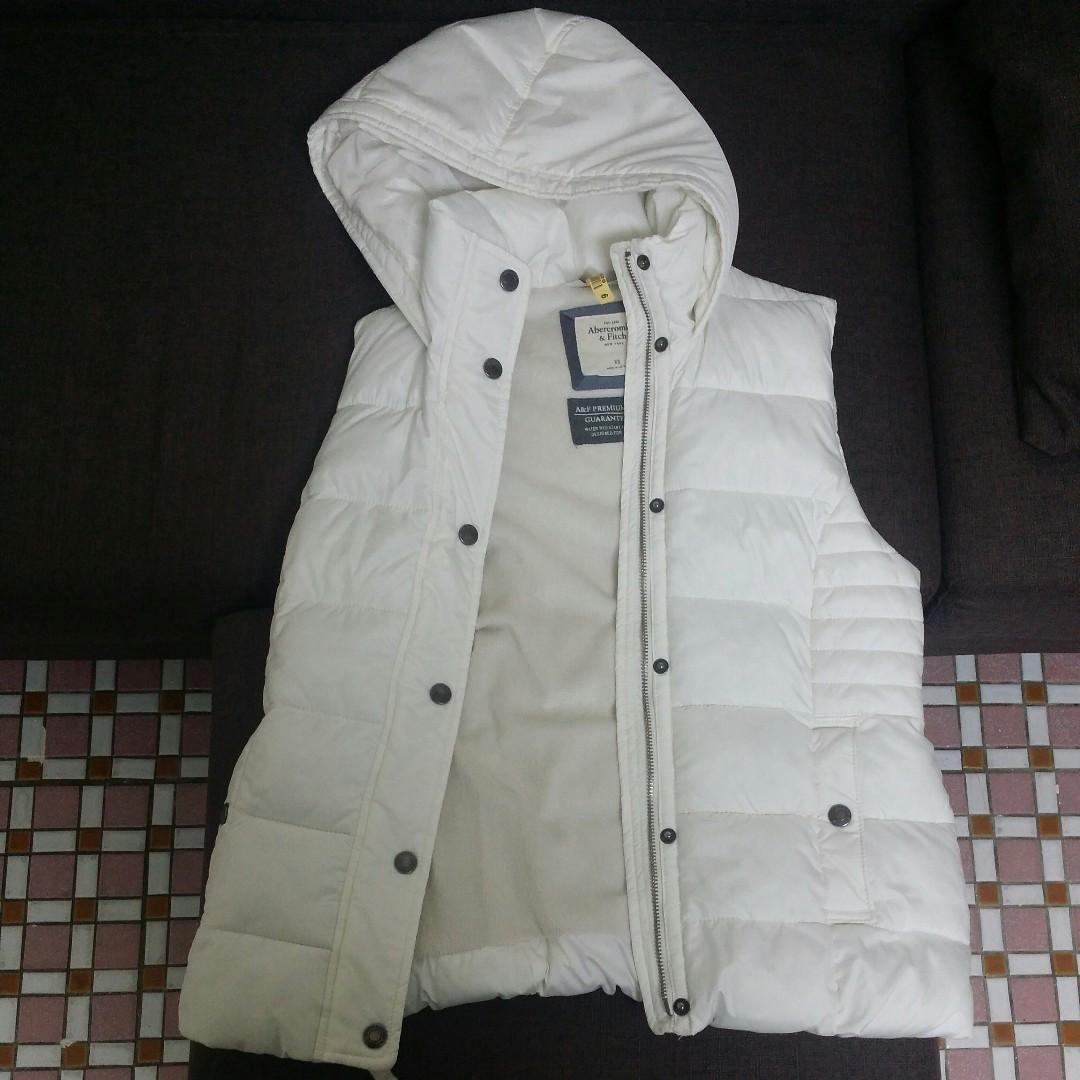 Abercrombie & Fitch背心外套