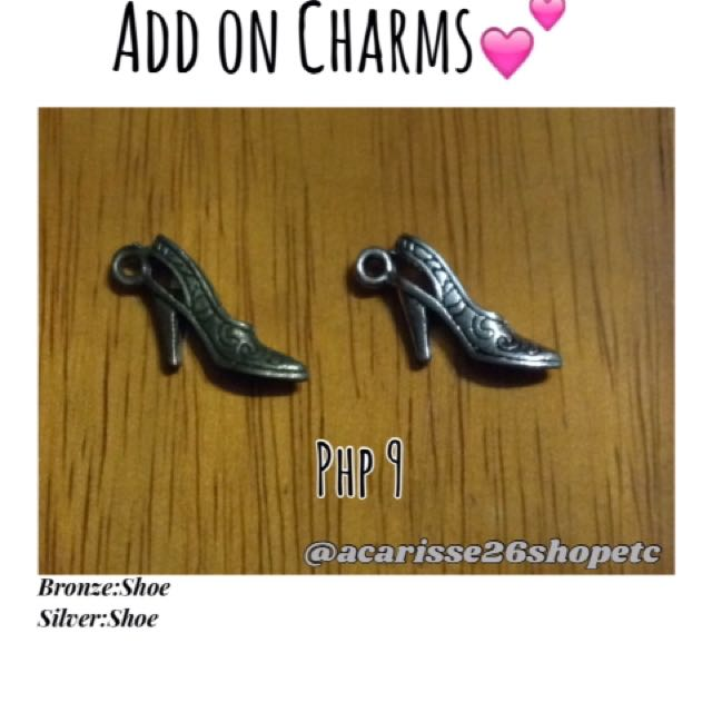 Add on charms- Shoe