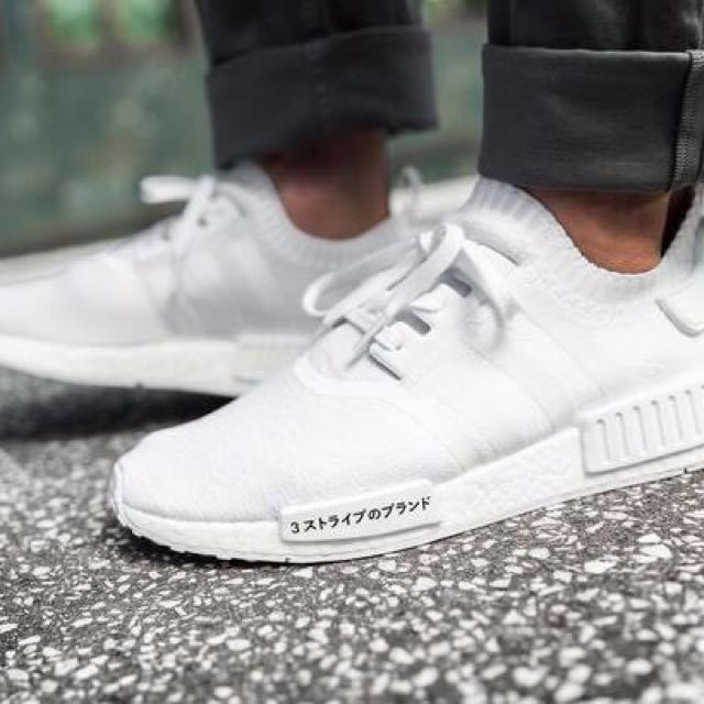 new arrival 08990 4f520 ADIDAS NMD R1 TRIPLE WHITE JAPAN