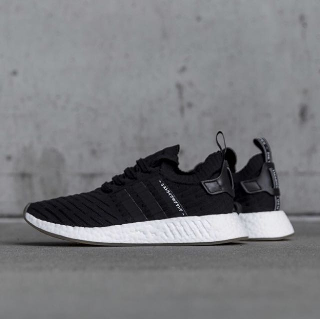 baf368b87796db ADIDAS NMD R2 Japan Core Black BY9696 Size 9.5US