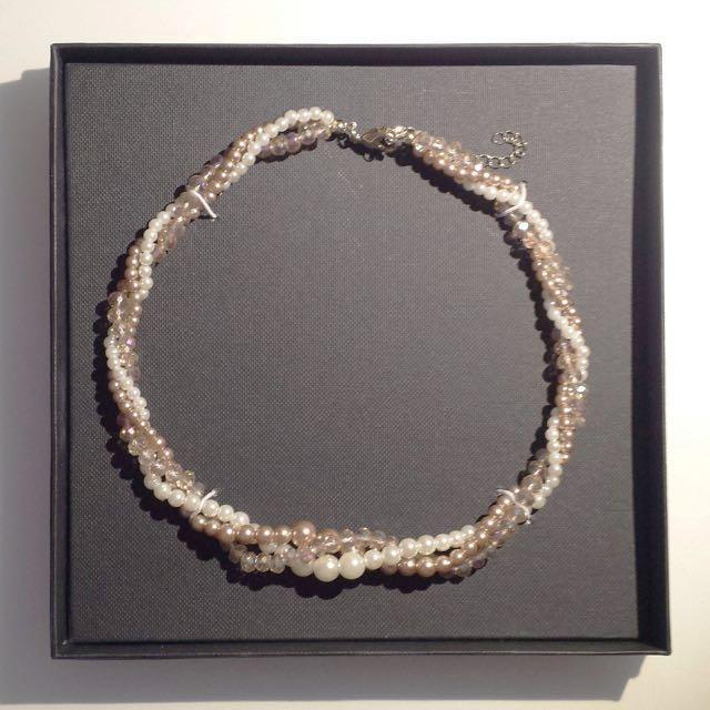 AGENDA Pearl Necklace