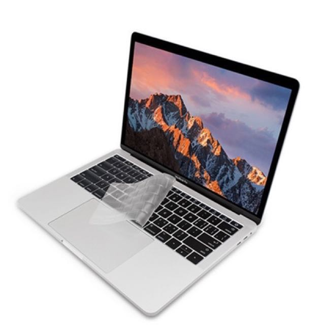 Apple MacBook Pro 13吋 No Touch Bar A1708 鍵盤保護膜 透明
