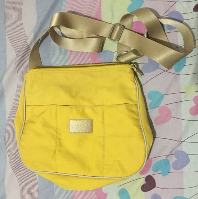 Arrow Yellow Body Bag