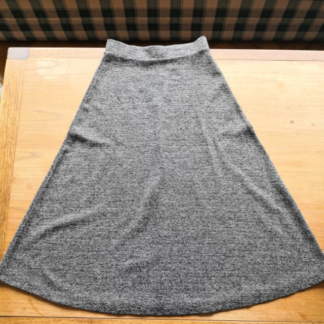 AS NEW Grey A-line Skirt