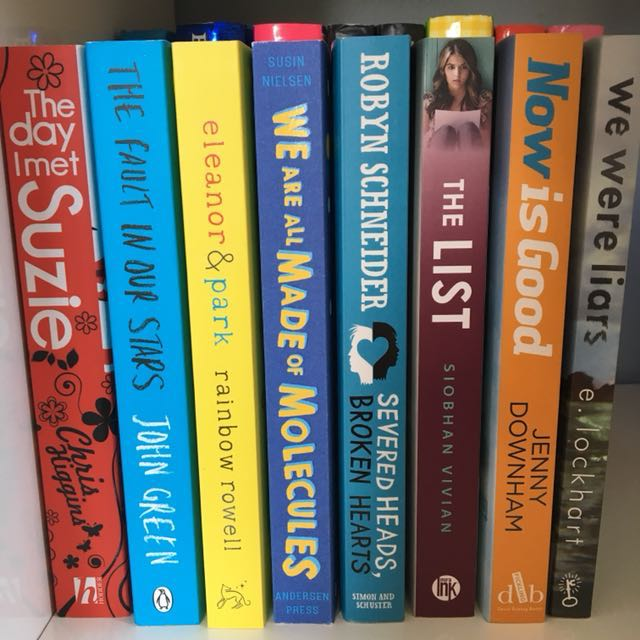 Assorted girls books