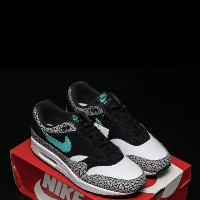 cd88f0d2e0 Atmos x Nike Air Max 1 Elephant, Men's Fashion, Men's Footwear ...
