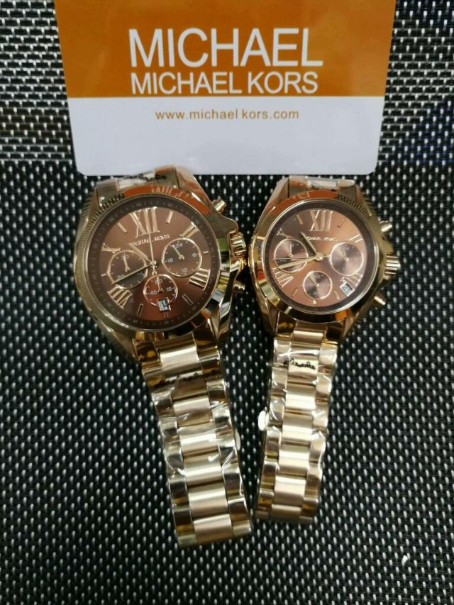 9be0fb0baa7 AUTHENTIC MICHAEL KOR COUPLE WATCHES