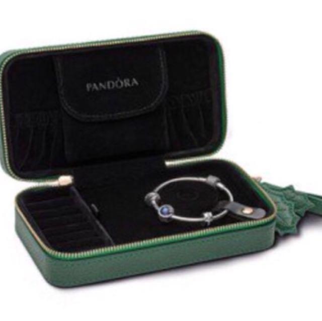 Authentic Pandora Travel Jewellery Box