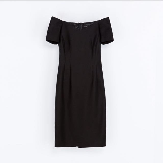 authentic ZARA off shoulder dress
