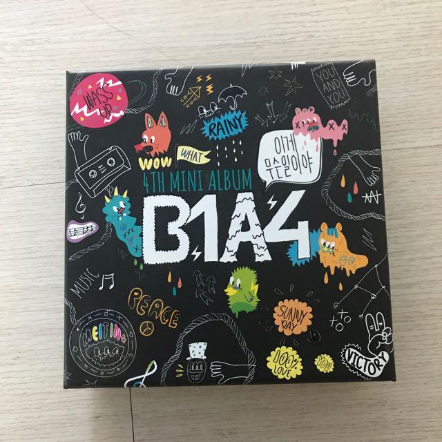 B1A4 4th mini album