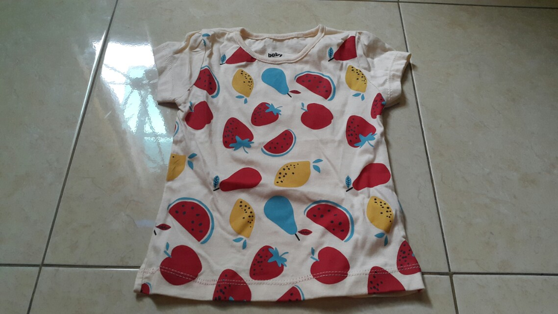 Baby victory t-shirt, fruit