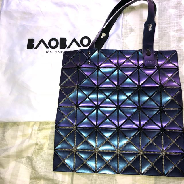 be69c8cdbd92 BAO BAO LUCENT LUCENT TWILL TOTE BAG