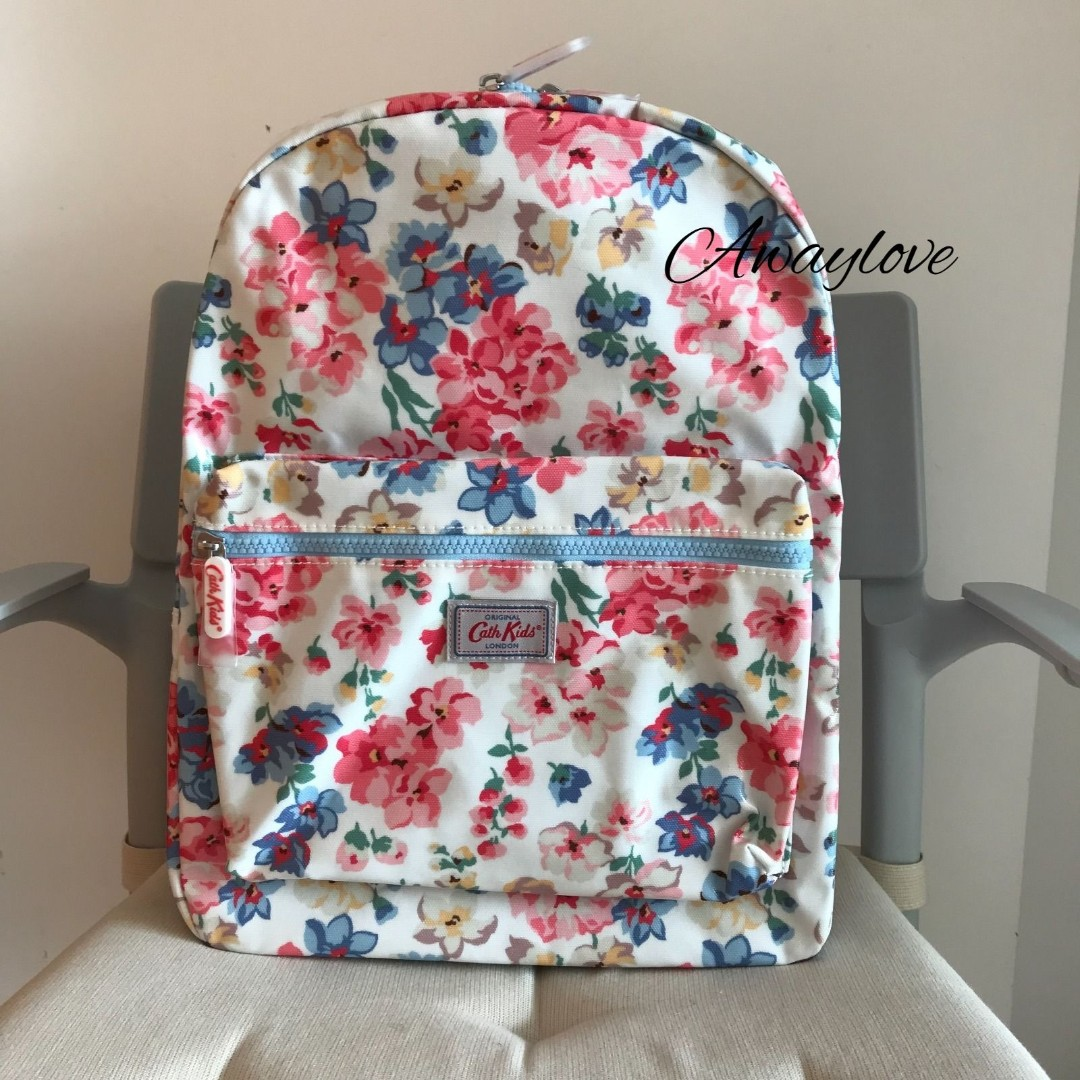BN Authentic Cath Kids Woodstock flowers kids padded rucksack, Luxury, Bags & Wallets on Carousell