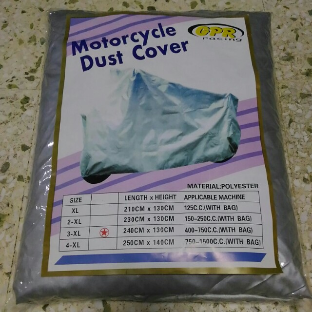BN Motorcycle/Motorbike Dust Cover (Thick Type)