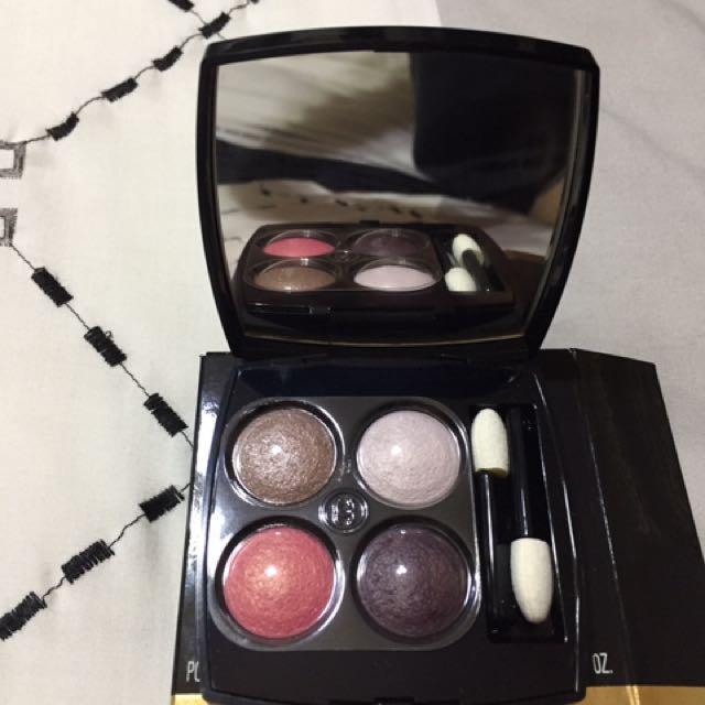 BRAND NEW CHANEL LES 4 OMBRES PALLETTE EYESHADOW COMPACT WITH MIRROR
