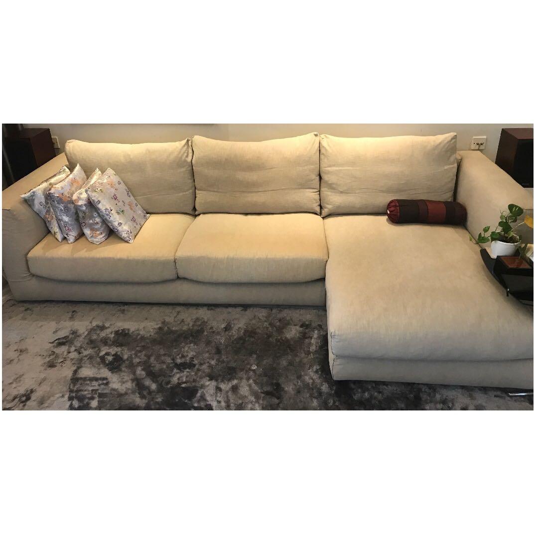 Branded 3m Italian sofa, purchased for S$8000 in 2011