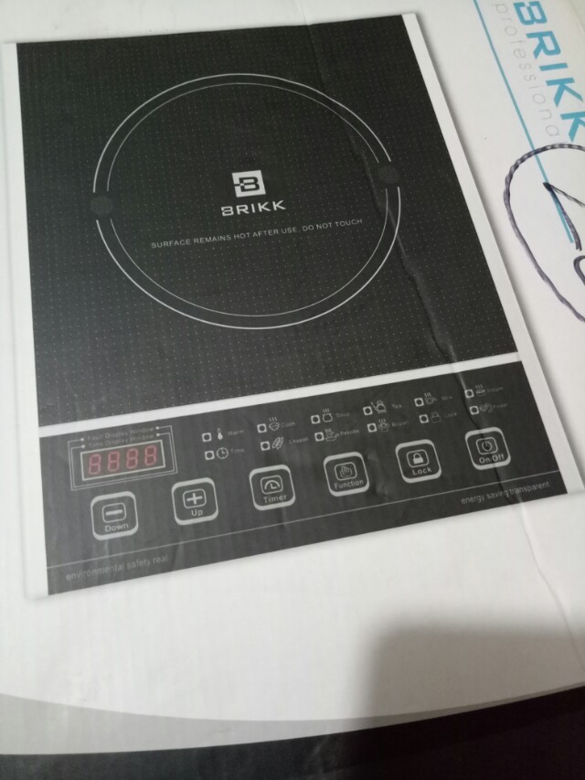Brikk Professionals Induction Cooker On