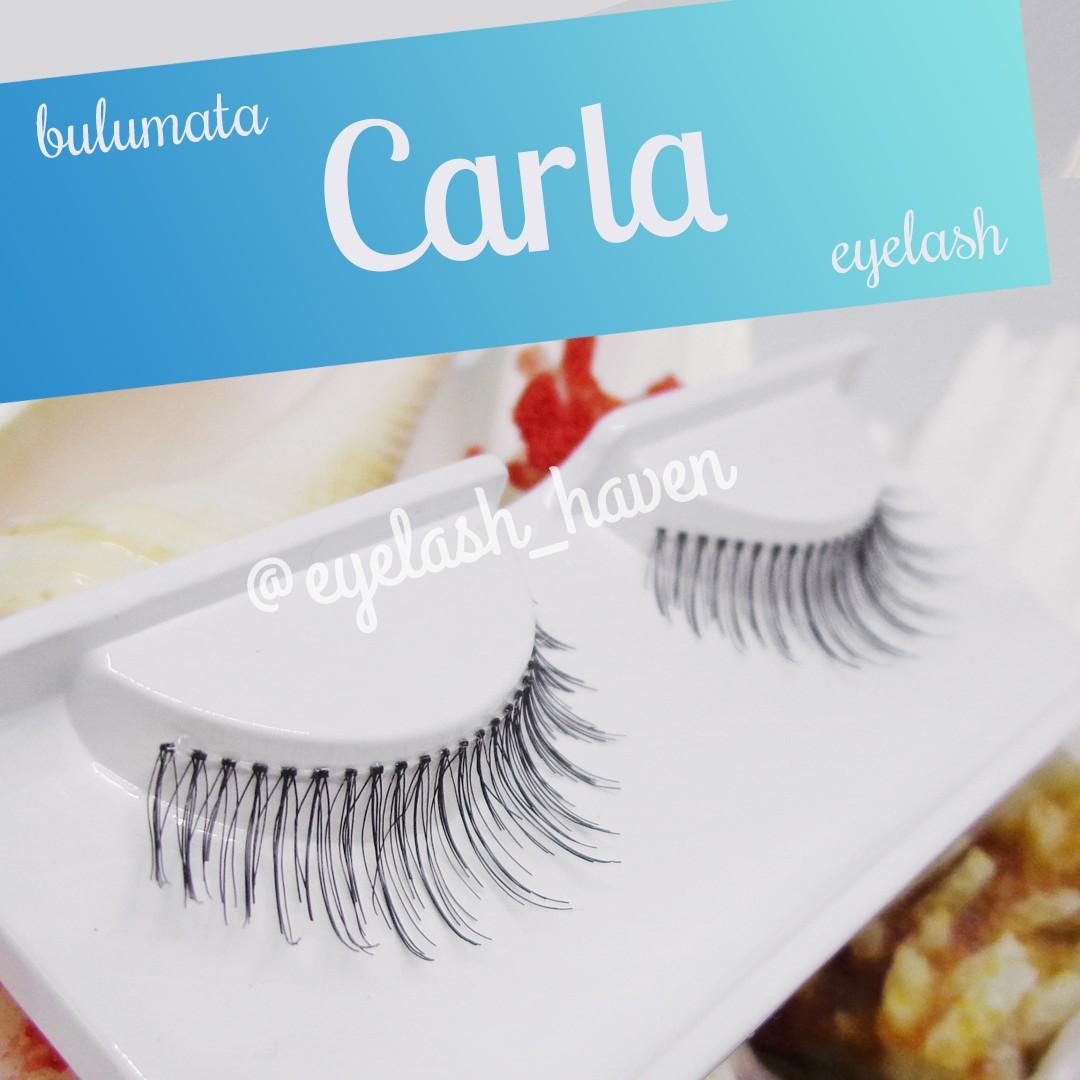Carla: Bulumata Natural. Panjang dan Volume Natural, Sehari-hari