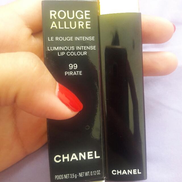 Chanel Rouge  Red Lipstick