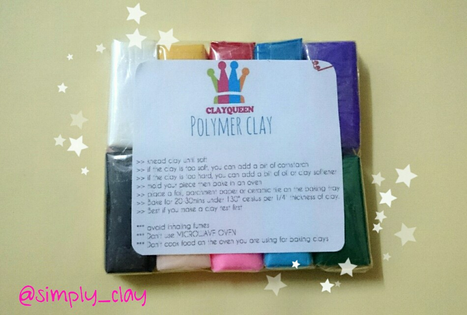 ClayQueen Polymer Clay Sample Pack