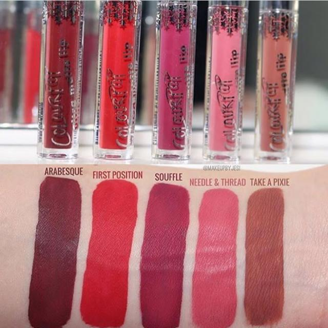 Colourpop Mini Ultra Matte Lip Collection in Gone Wishing