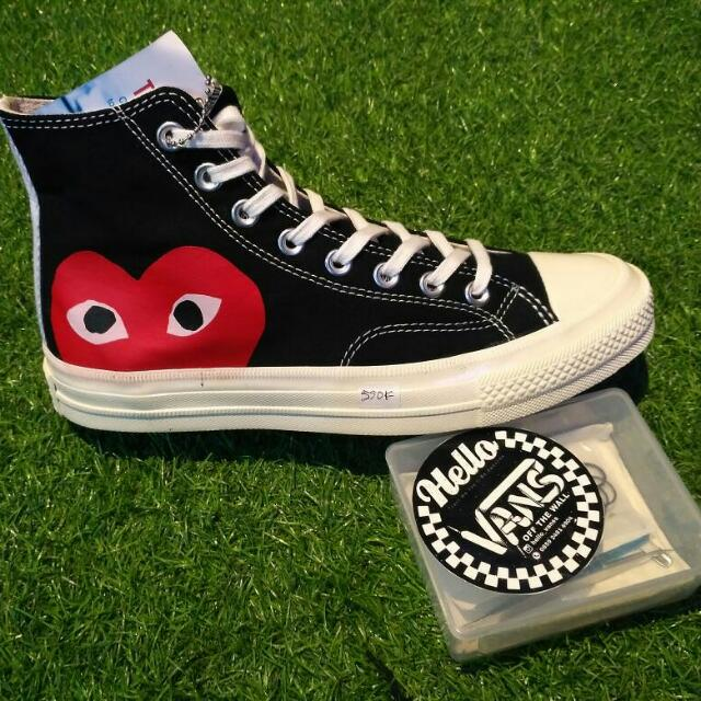 Converse Play Hi/cdg Premium High Quality