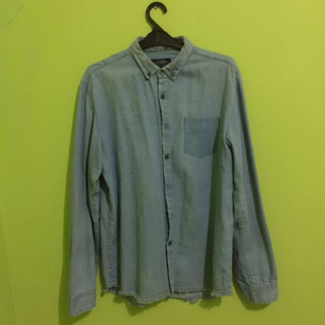 Denim shirt by Pull & Bear