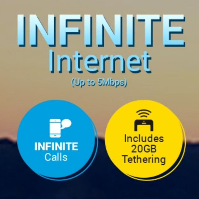 DIGI INFINITE 100 LIMITED PLAN UNLIMITED DATA INTERNET UNLIMITED CALL