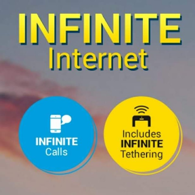 DiGi Infinite 150 Unlimited Data Internet Unlimited Call All Network