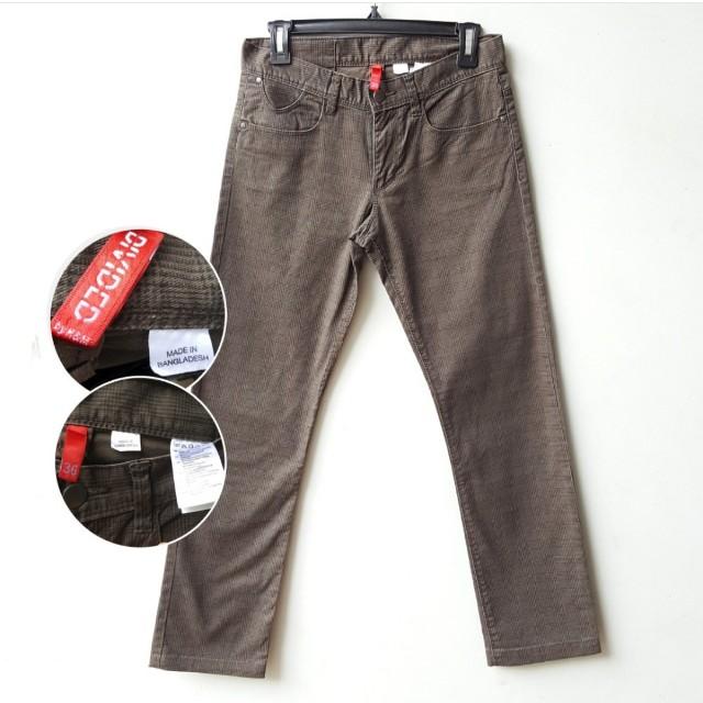 Divided Brown Pants